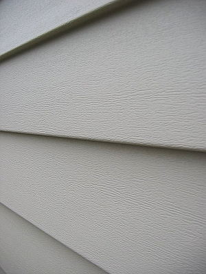Aluminum Siding with Wood Grain detail