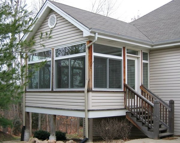 Glass and Screen Porch Enclosure