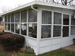 Glass and Screen Patio Enclosure