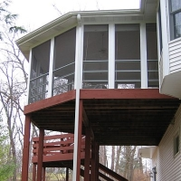 Screened-in Deck