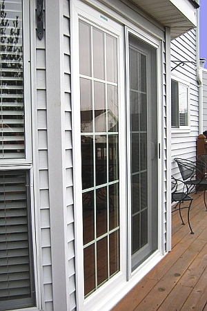 Colonial Style Sliding Door