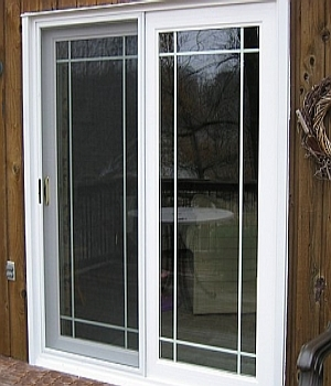 prime sliding patio door with grooved glass - Sliding Patio Doors