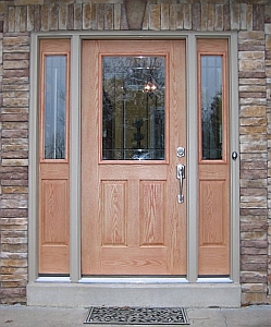 Single Prime Door with Sidelights & J \u0026 J Siding and Window Sales Inc. Prime Entry Doors Page