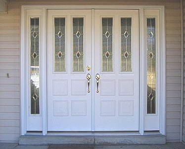 J j siding and window sales inc prime entry doors page for French doors with sidelights