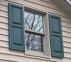 Traditional Window and Shutters
